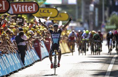 """Шестой этап """"Тур де Франс"""" выиграл чех Штыбар"""