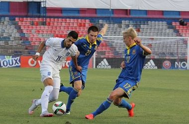 Юношеская сборная Украины проиграла Франции на Евро-2015