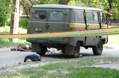 Все подробности убийства инкассаторов в Харькове