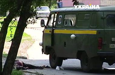 Расстрел инкассаторов в Харькове: Грабитель не смог завести машину с деньгами