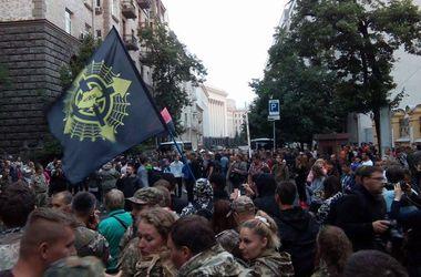"""""""Правый сектор"""" объявил митинг возле Администрации президента бессрочным"""