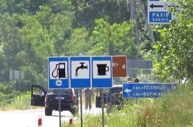 Начало инцидента в Мукачево - оперативное видео