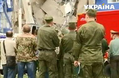 Казарма в Омске обрушилась на солдат сразу после присяги