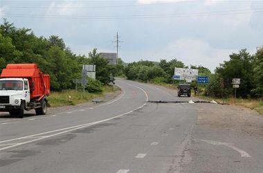 Трасса Киев-Чоп в пределах Мукачево перекрыта уже четвертый день