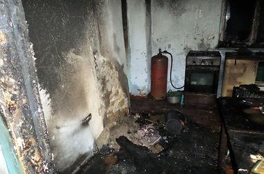 Из-за взрыва газового баллона женщина попала в больницу