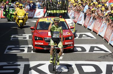 """Рафал Майка выиграл 11-й этап """"Тур де Франс"""""""