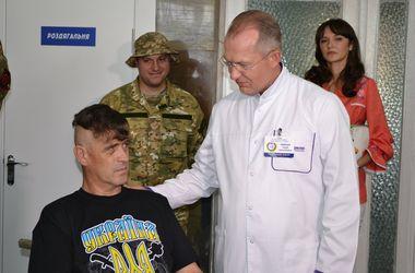 В Днепропетровск доставили 11 раненых солдат: вырваны мышци и поврежден кишечник