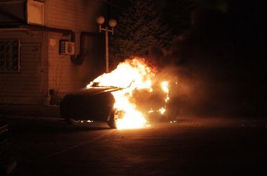 В Киеве снова массово горели машины