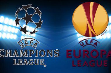 Клубы Украины и России разведут при жеребьевке Лиги чемпионов и Лиги Европы