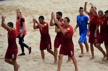 Сборная Португалии стала чемпионом мира по пляжному футболу