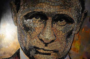 Украинская художница создала портрет Путина из гильз