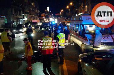 В Киеве на Шулявке водитель насмерть сбил пешехода и сбежал