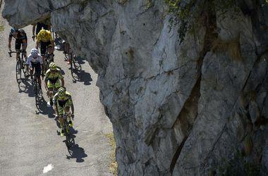 "Винценцо Нибали выиграл 19-й этап ""Тур де Франс"""