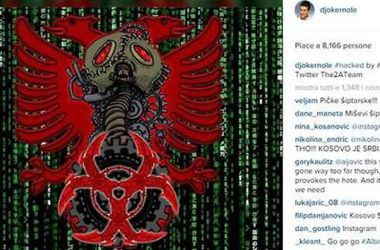 Албанские хакеры взломали Instagram лучшего теннисиста мира