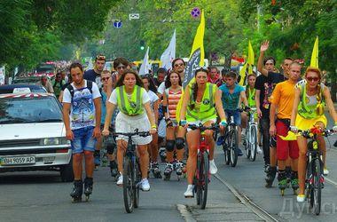 В Одессе велосипедисты напомнили о правах и обещаниях