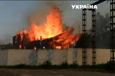 В Черкасской области пожар уничтожил уникальную церковь