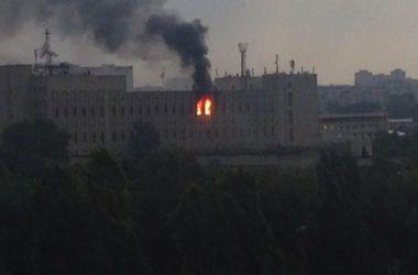 Масштабный пожар в Харькове тушили 12 часов