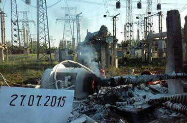МИД осудил целенаправленное уничтожение боевиками критических объектов инфраструктуры Украины