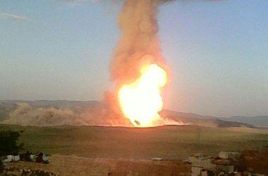 В Турции взорвался газопровод: огромный столб дыма поднялся на сотни метров в небо