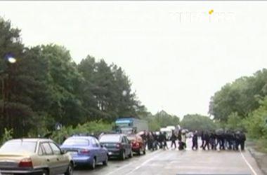 Волынские шахтеры начали забастовку