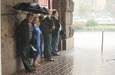 В среду в Киеве опять пройдут дожди