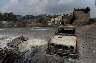Бушующие в Европе пожары подобрались к Лазурному берегу и Барселоне