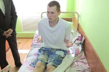 СБУ показала российских ГРУшников: задержанные находятся в киевском военном госпитале