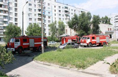 Пожар в запорожской многоэтажке: дети отравились угарным газом