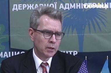 Посол США в Украине Джефри Пайетт побывал в Краматорске