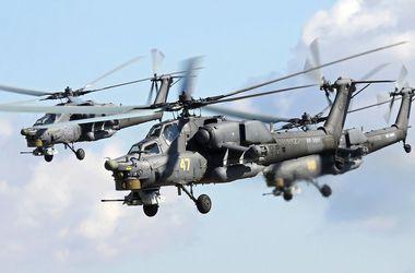 В России на авиашоу разбился вертолет Ми-28