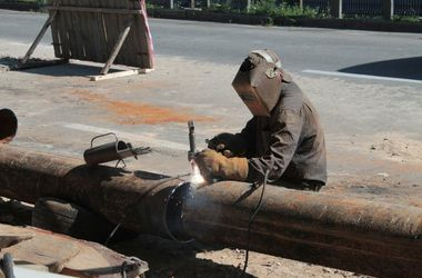 Как в Киеве на Борщаговской будут чинить гигантский прорыв
