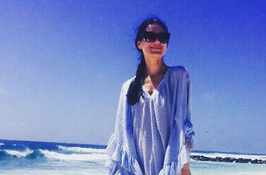 Маша Ефросинина отправилась на девичник на остров (фото)