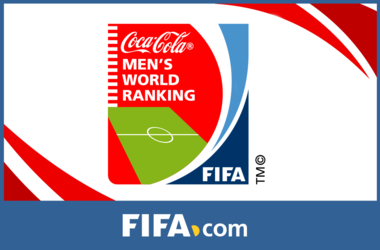 Украина опустилась на три позиции в рейтинге ФИФА