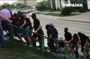 В Киеве произошла массовая драка
