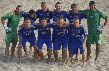 Сборная Украины по пляжному футболу сенсационно разгромила Испанию