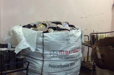 Правоохранители изъяли в Киеве около 20 тыс. контрафактных дисков