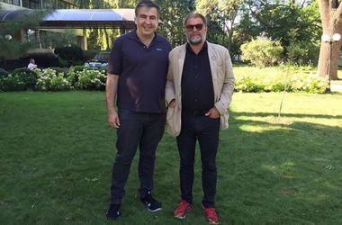 Саакашвили рассказал о своих звездных гостях