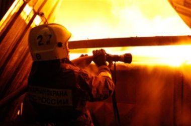 В Запорожье горел рынок