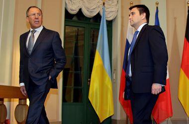 Лавров и Климкин провели переговоры по Донбассу