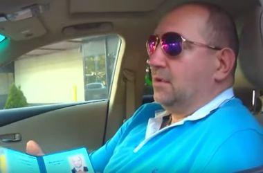 В сети появилось видео задержания нардепа Мельничука