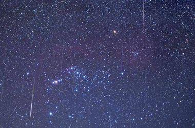 Сегодня ночью земляне увидят звездный дождь
