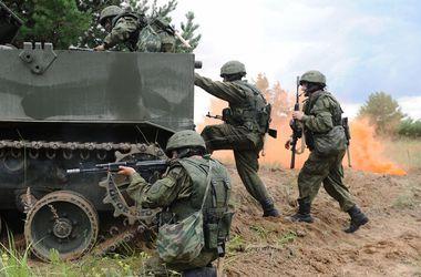 Российские войска на границе с Украиной учатся сбивать беспилотники