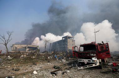 Жертвами разрушительного взрыва в Китае стали 50 человек