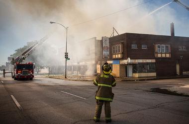 Американец расстрелял пожарника, который тушил пожар в его доме