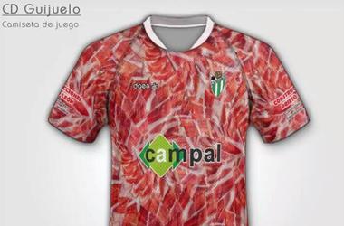Испанский футбольный клуб раскрасил свою форму в цвета хамона