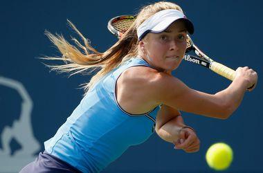 Элина Свитолина выиграла первый матч на турнире в Цинциннати