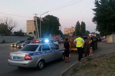 Пьяный российский военный угнал БТР и устроил гонки с полицией