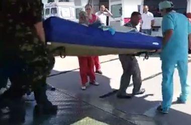 В Одессу прилетел борт с 29 ранеными бойцами