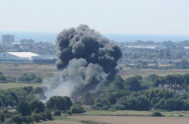 Во время авиашоу в Британии разбился самолет