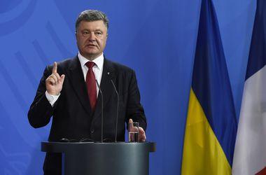 """Порошенко заявил, что """"фейковые"""" выборы на Донбассе угрожают всему минскому процессу"""